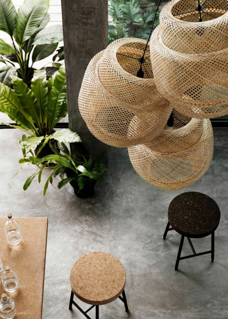 lamparas-pendants-wicker-style