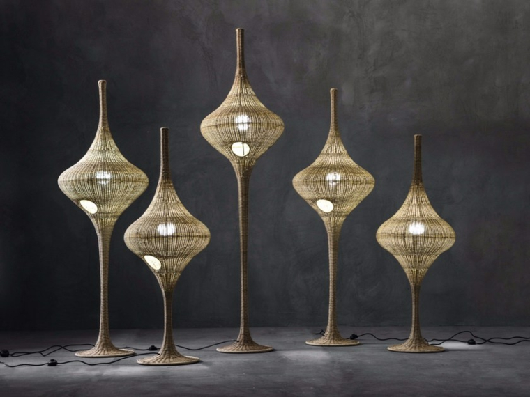 wicker lamps design ideas-Michael-Sodeau