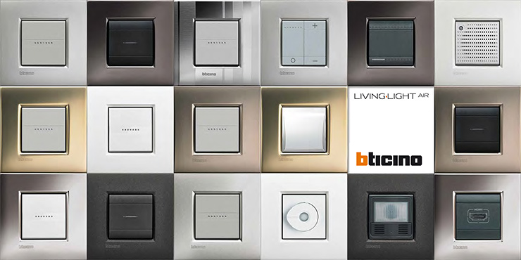 Legrand btcino livinglight air