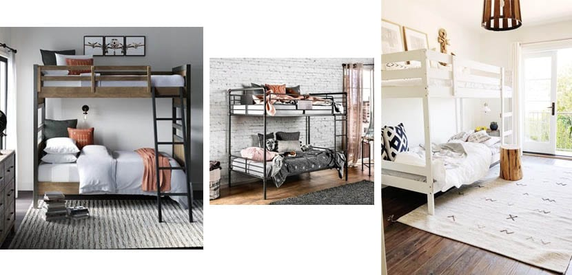 Traditional bunk beds