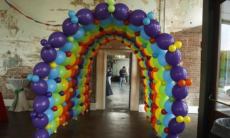bow balloons