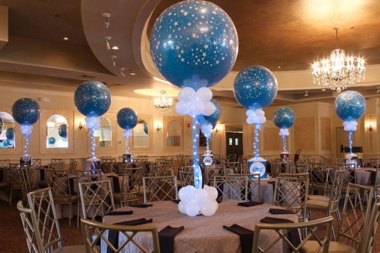 center balloons