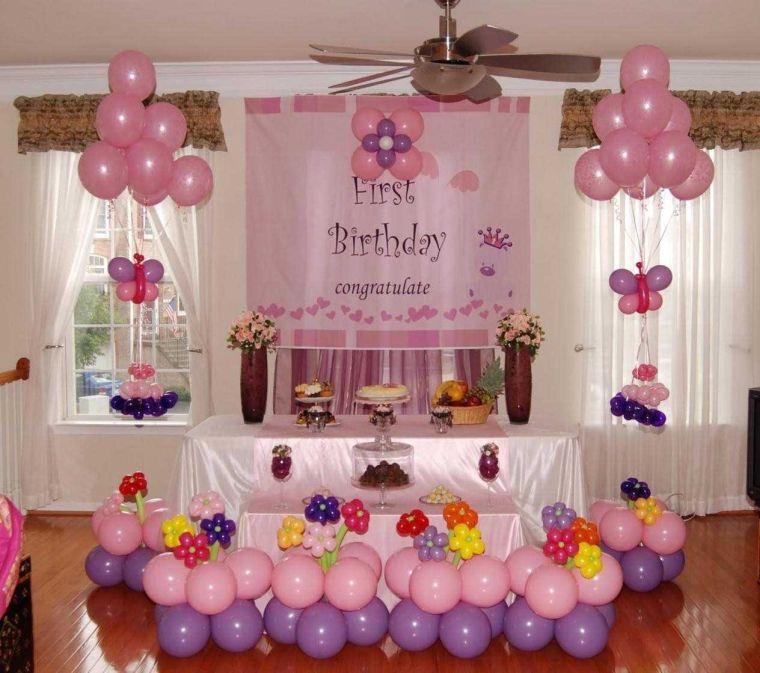 balloons flowers butterflies
