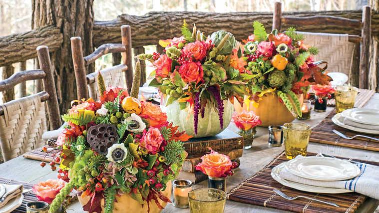 original flowers centerpieces