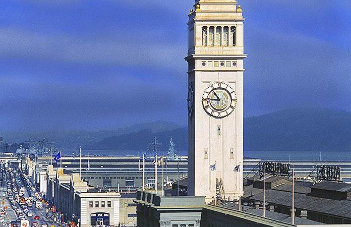 San Fancisco Architecture : Ferry Building And Embarcadero, San Francisco www.mitchellfunk.com