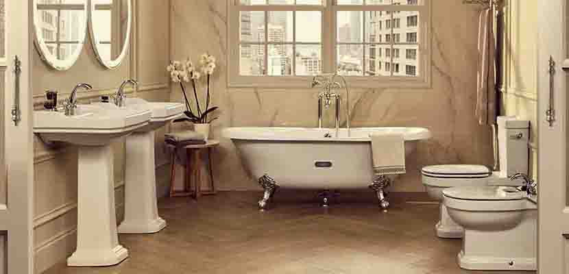Vintage bathtub