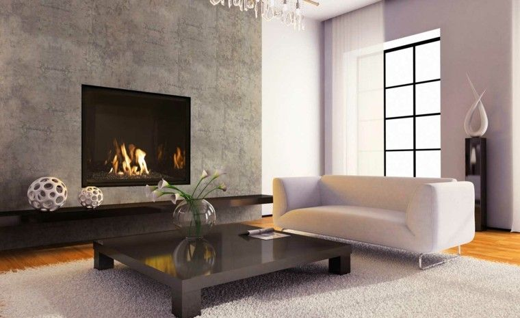 fireplace interior decoration