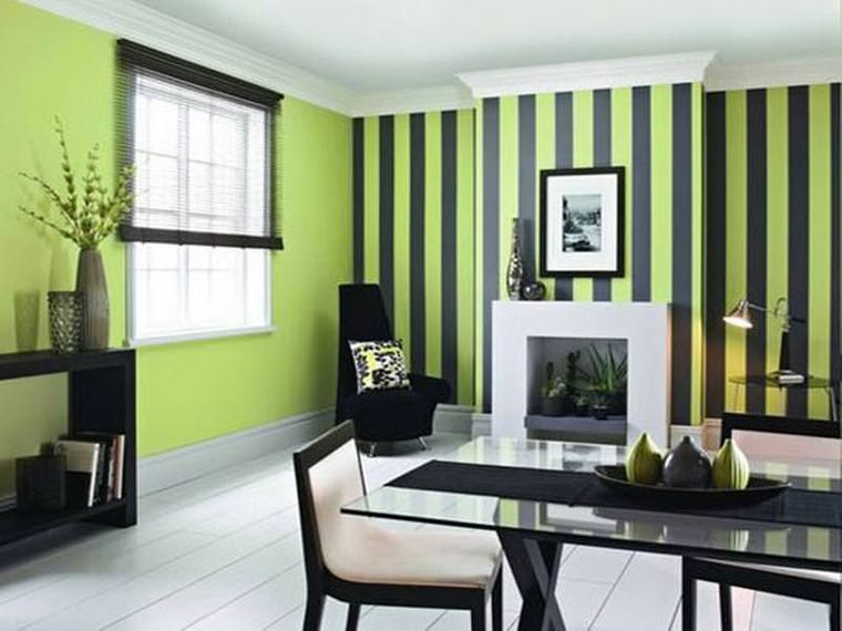 green interior decoration