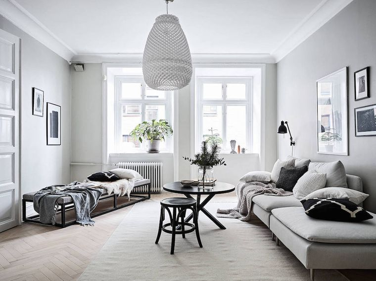 Scandinavian decoration styles