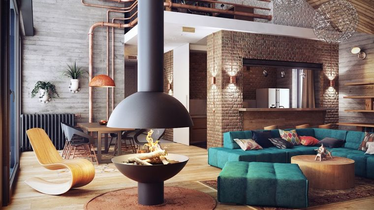 industrial decorating styles