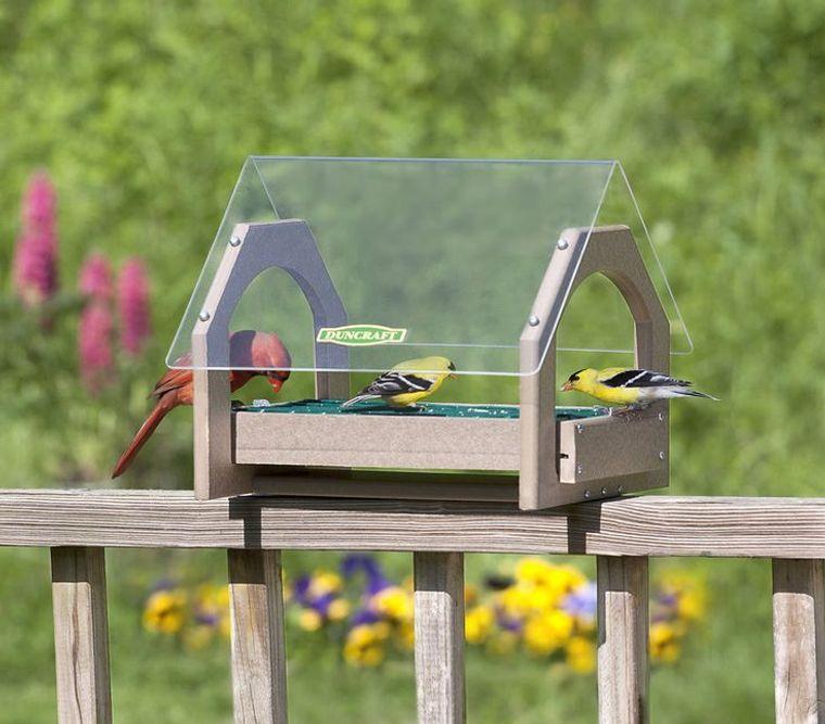 decorate balcony small birds