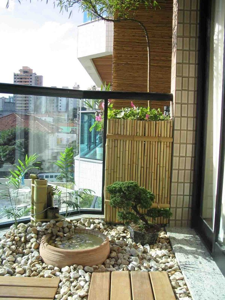 decorate balcony small tranquility