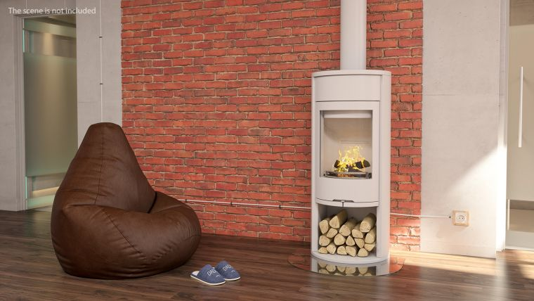 white wood stoves