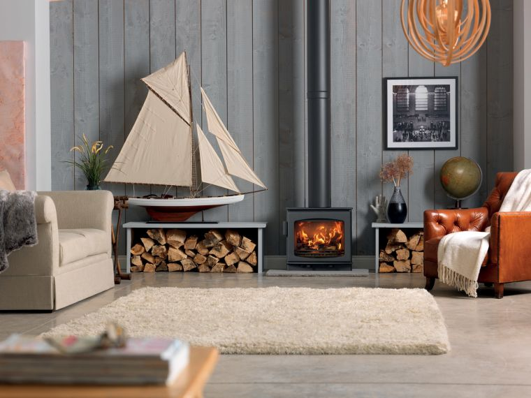 wood stoves decoration