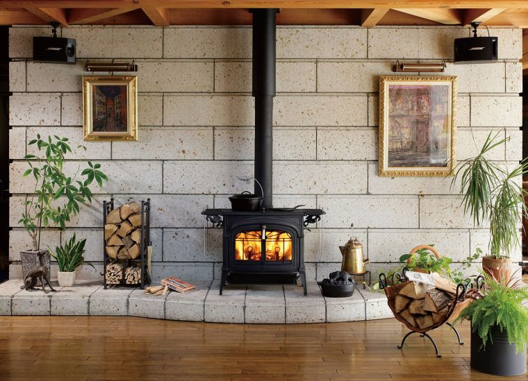 functional wood stoves