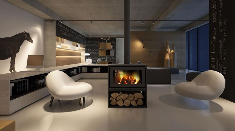 minimalist wood stoves