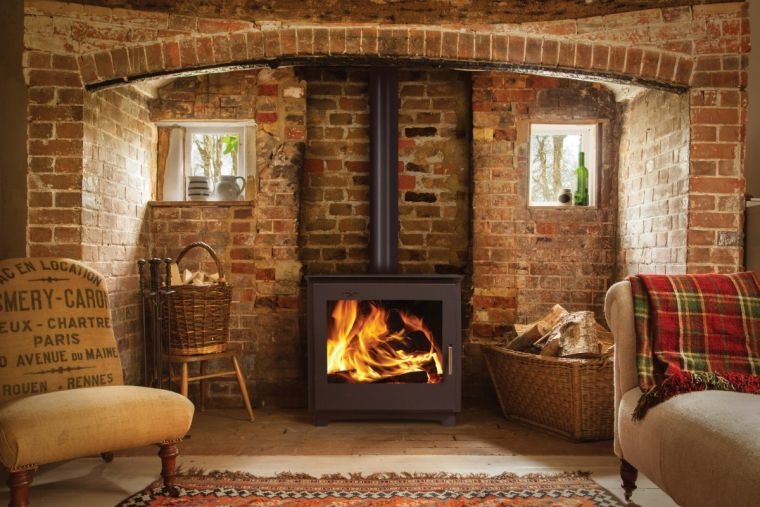 rustic wood stoves