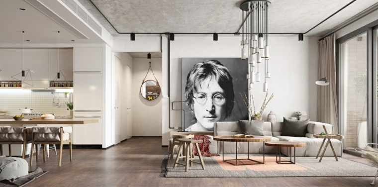 interior decorating ideas-john-lennon-decor
