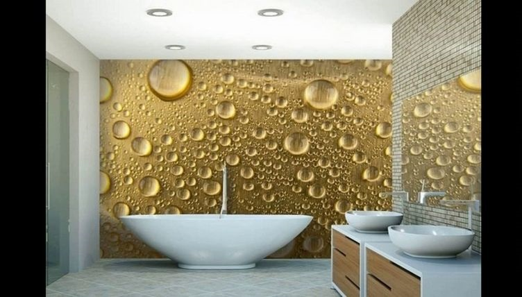wallpaper bathrooms