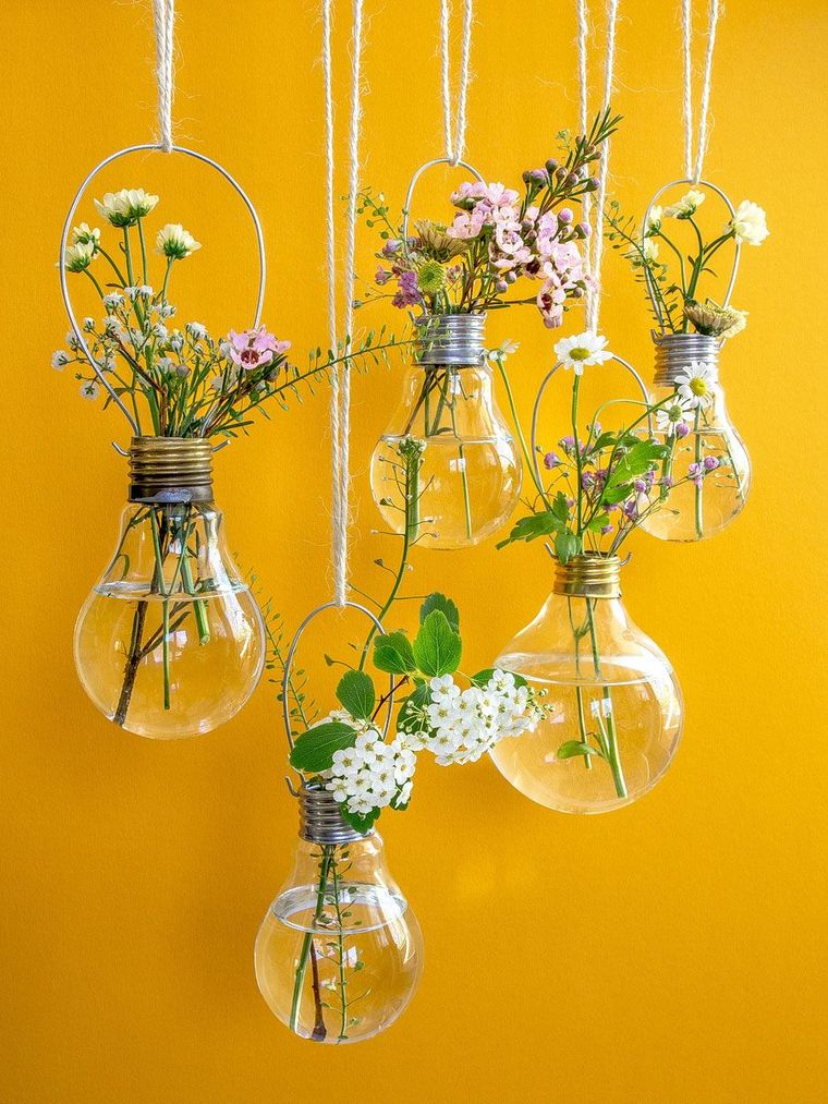 spring decoration light bulbs