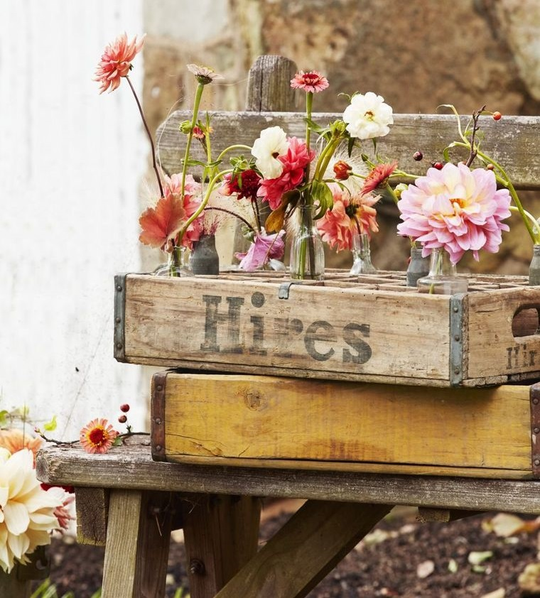 spring decoration bottle box