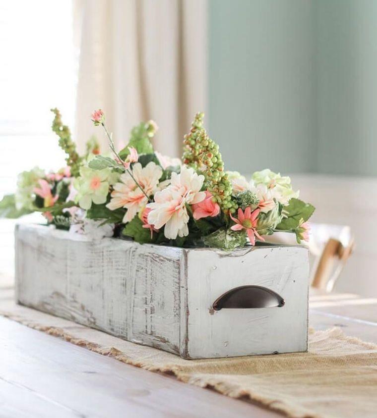 spring decoration flower boxes