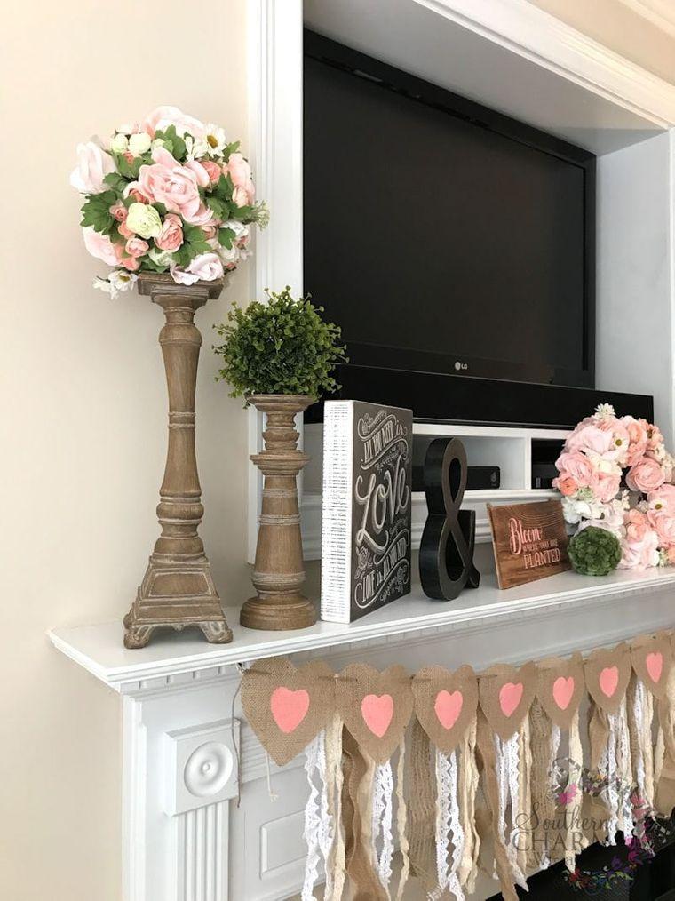 spring decoration candlestick