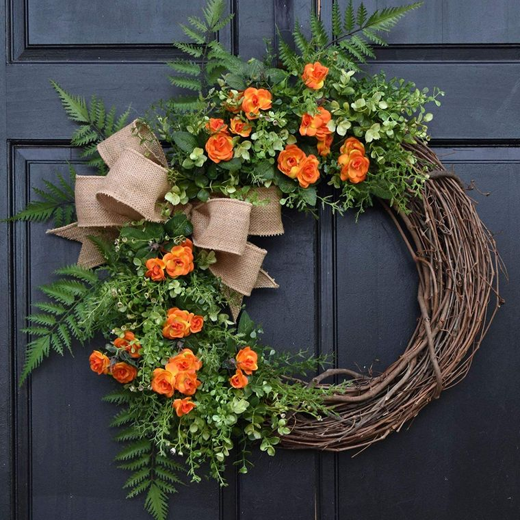 spring crown decoration