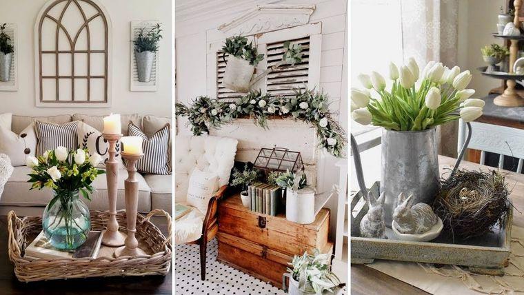 spring decoration home