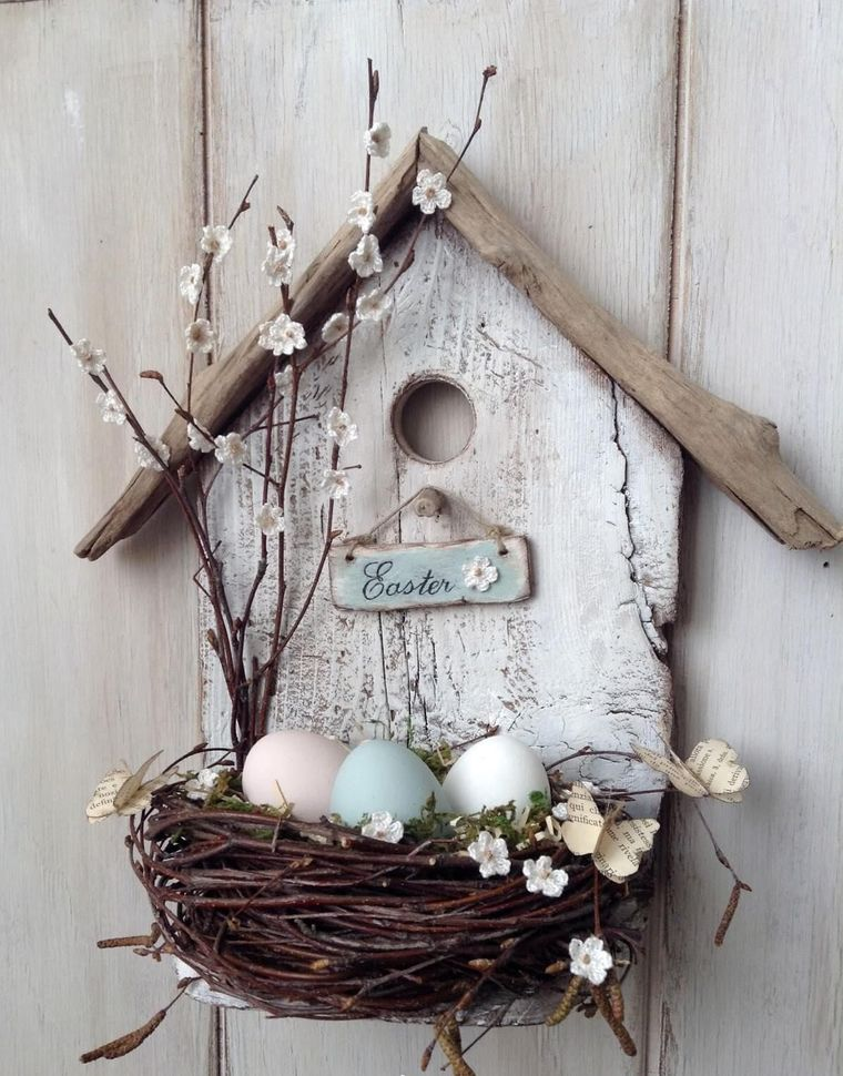spring decoration bird nest