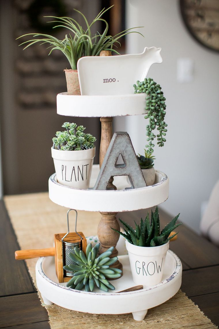 spring decoration stand
