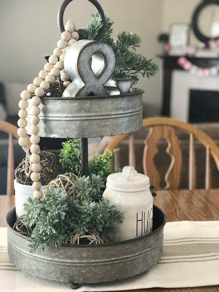 spring decoration stands
