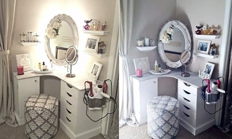 beauty dresser with drawers