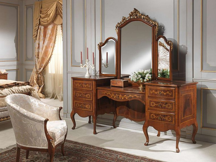 classic dresser with drawers