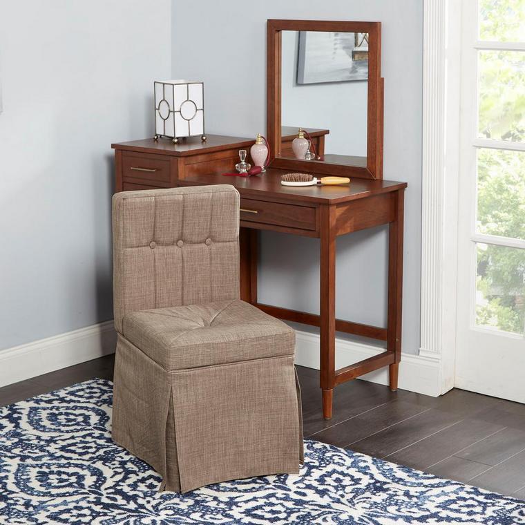 corner dresser with drawers