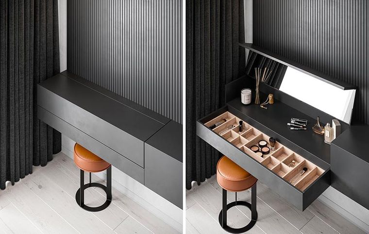 iryna lysiuk dressing table with drawers