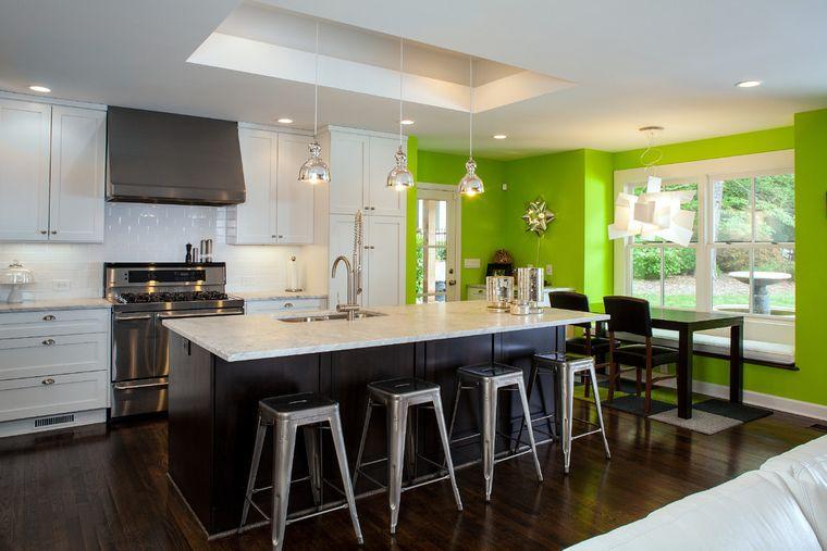 contemporary green color