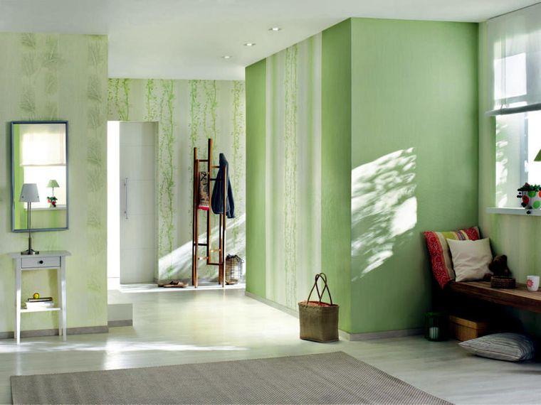 green color interior decoration