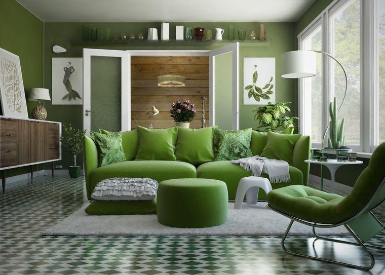 green color original decoration