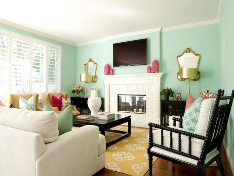 green color small space
