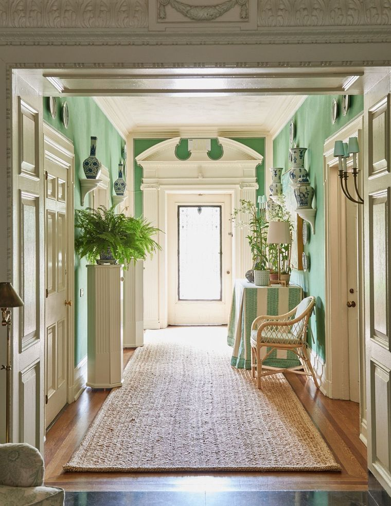 green color lobby