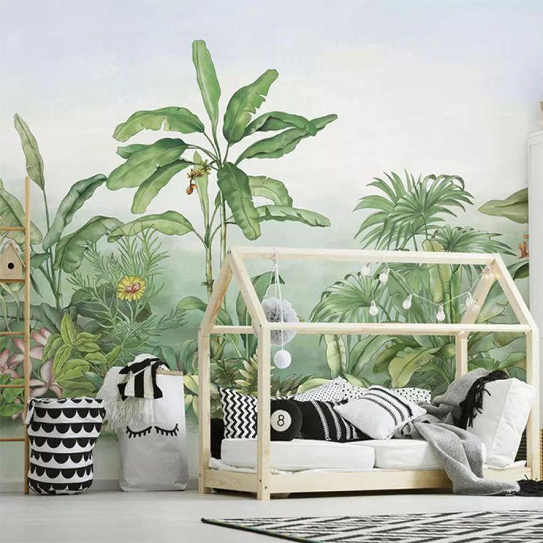 boy bedroom interior decoration