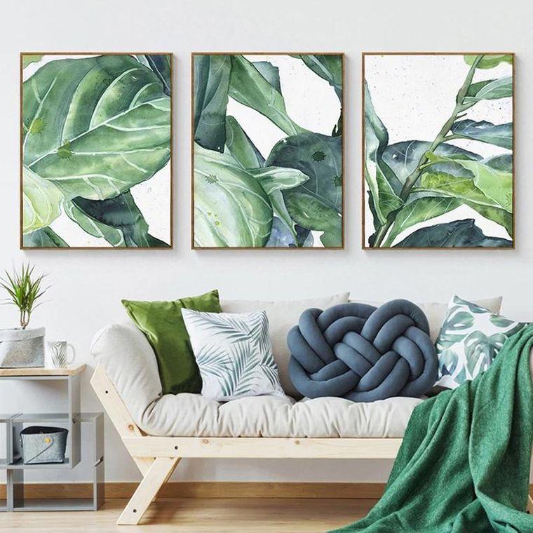 modern tropical interior decoration