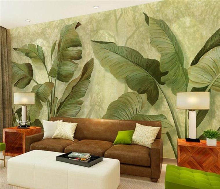modern tropic interior decoration