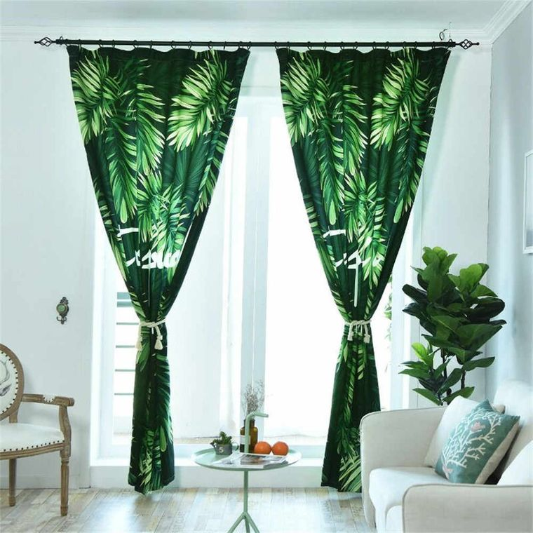 interior decoration vegetation curtain