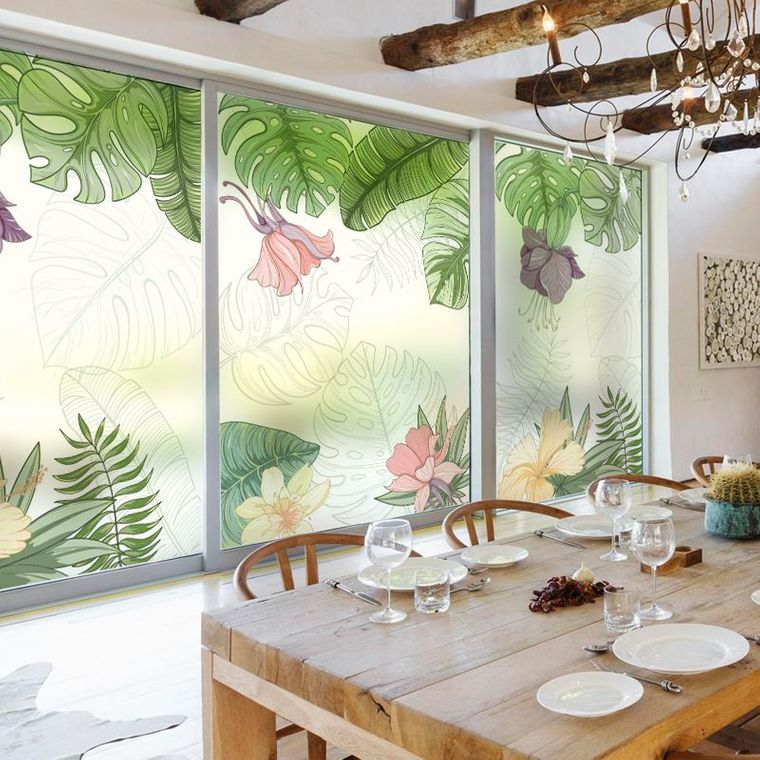 bay window interior decoration