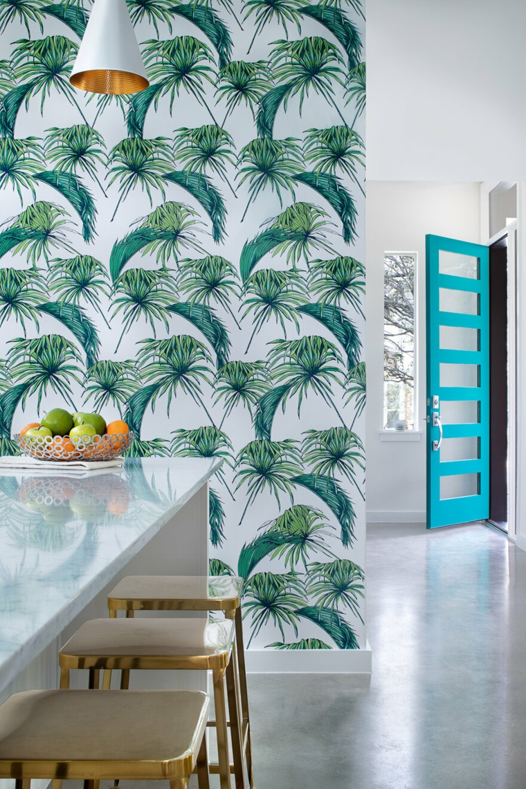 palm-leaves-decorate-house