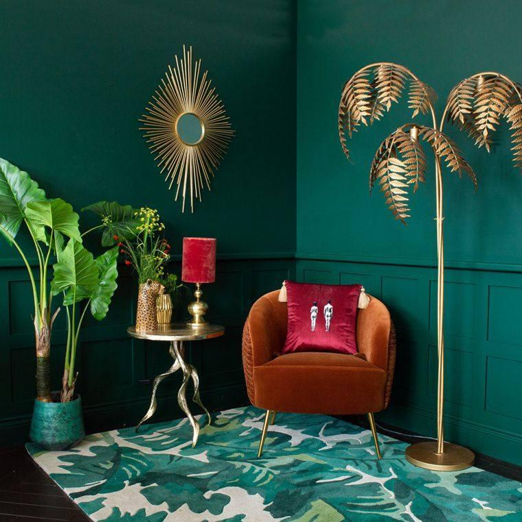 green-leaves-carpet-style