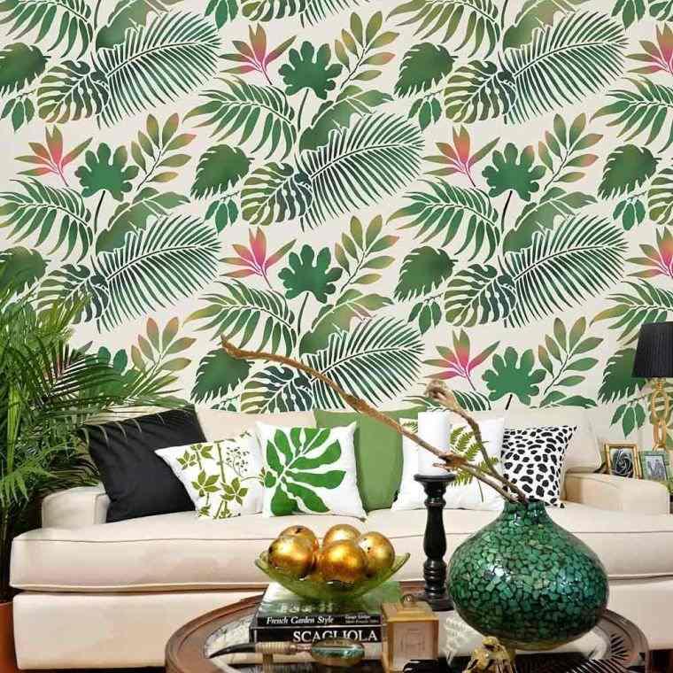 green-leaves-modern-living-room