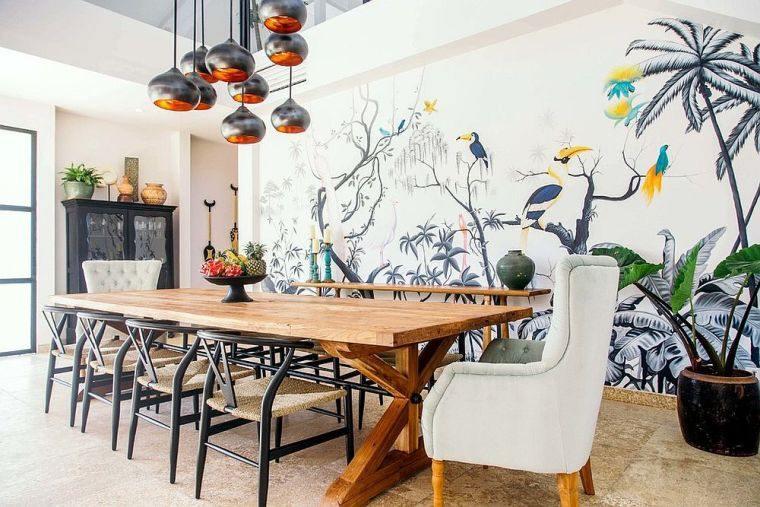 living-dining-room-design-wall